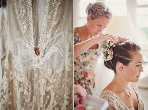 wedding hair and makeup oakham edwardian lace and pretty flowers in hair a charming