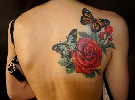 20 coolest butterfly tattoo designs examples sheideas