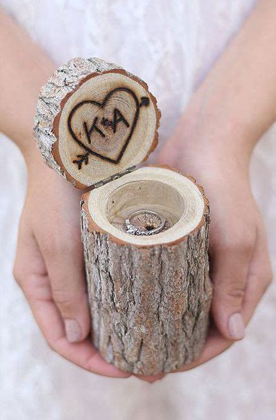 geode engagement ring box 1000 images about wooden wedding ring holders on