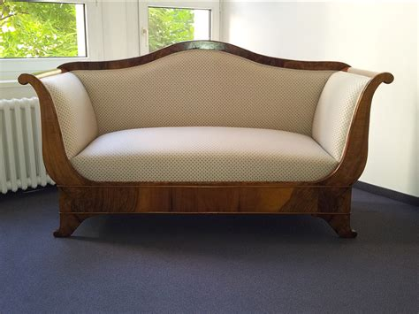 biedermeier sofa antike holz und polster m 246 bel restaurierung