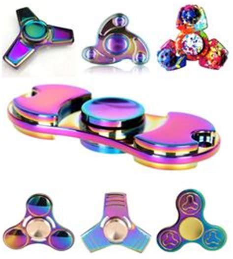 Finget Spinner Aluminium Bearing R188 Steel Gila Putarannya 2017 edc toys professional tri spinner fidget pattern spinner torqbar brass fidget