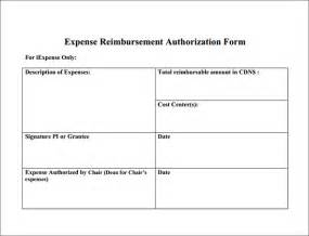 doc 585666 sample expense reimbursement form 8 download
