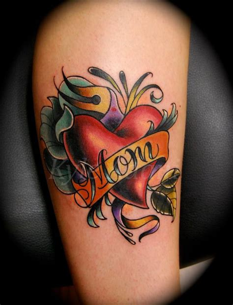 mom heart tattoo 100 most popular tattoos ideas golfian