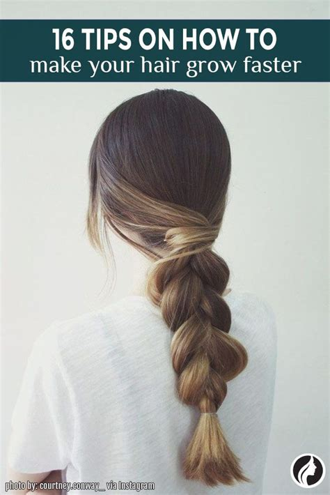 how to make your hair grow faster than ever 1 inch in a week the 25 best hair grow faster ideas on pinterest grow