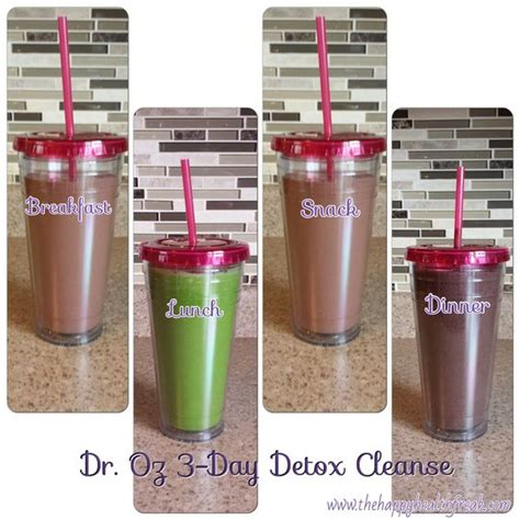 Dr Oz 3 Day Smoothie Detox After A Binge Weekend by Chang E 3 Smoothie And Dr Oz On