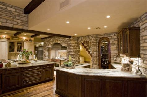 stone kitchen design 18 lovely kitchen design ideas with stone walls
