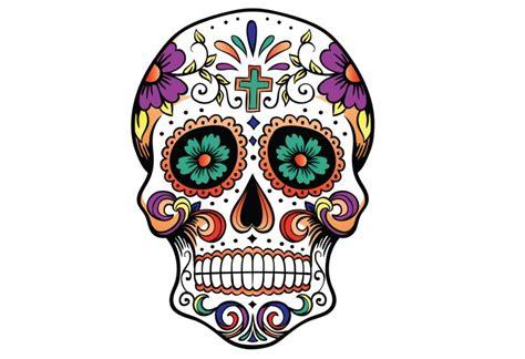 teschio messicano fiori teschio messicano