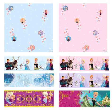 disney frozen wallpaper for bedroom disney frozen wallpaper borders and wall stickers wall d 201 cor ebay