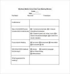 workshop minutes template school meeting minutes template 8 free sle exle