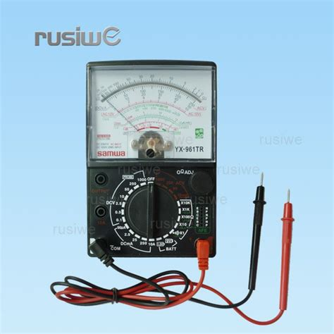 Multi Tester Multitester Analog Der E samwa yx 961tr analog analogue multitester ac dc volts ohm