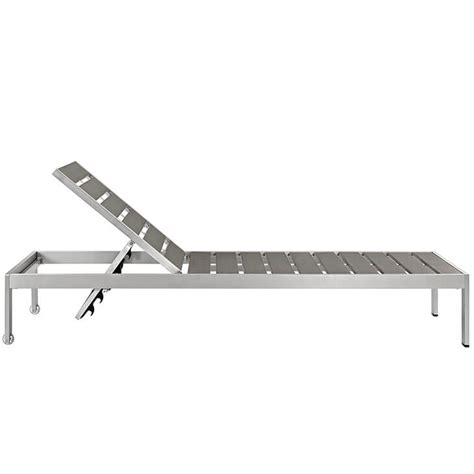 modern patio chaise lounge modern outdoor aluminum wood chaise lounge modern