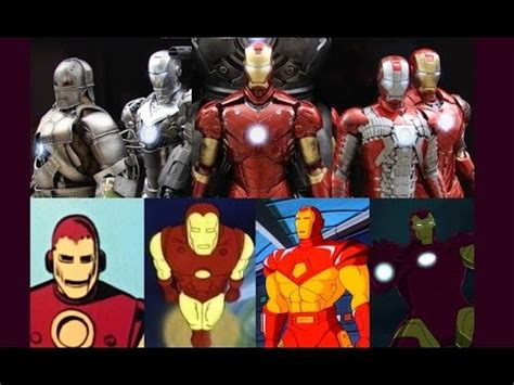 iron man evolution tv cinema youtube