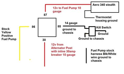 h22 alternator wiring diagram free wiring