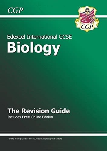 edexcel certificate international gcse biology revision guide with online edition a g course