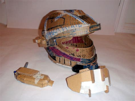 How To Make A Halo Helmet Out Of Paper - halo reach recon helmet what do i do now