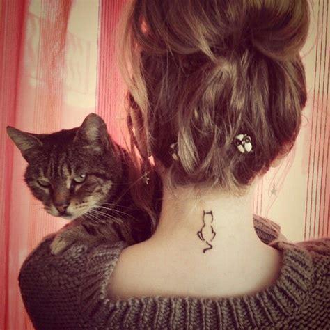 tattoo cat minimalist 100 minimalistic cat tattoos for cat lovers architecture