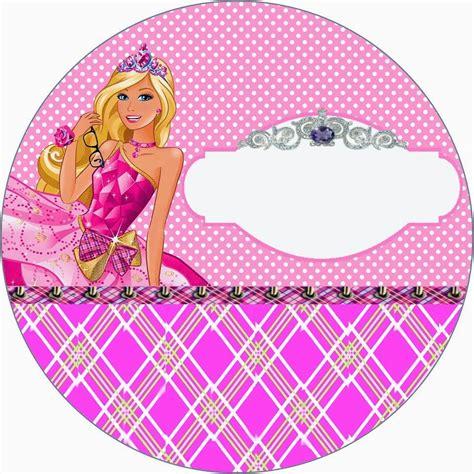 printable barbie stickers barbie princess charm school free printable invitation