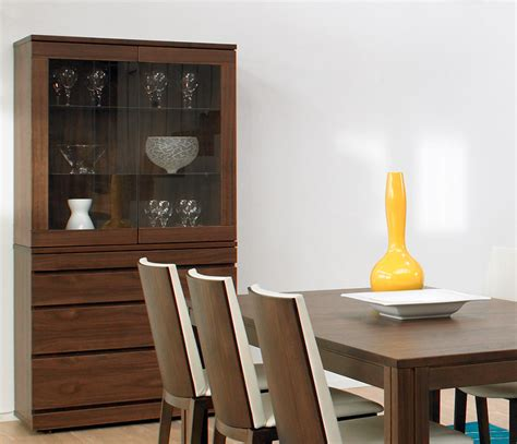 Contemporary Dining Room Display Cabinets Contemporary Cabinet And Hutch From Wharfside