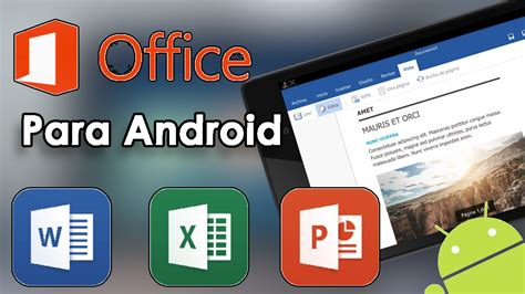 microsoft office apk por fin word excel powerpoint para android oficial microsoft office preview