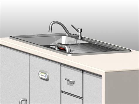 built in kitchen sink dishwasher by ben woodhouse at