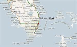 oakland park florida map oakland park location guide