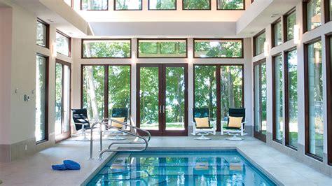 House Plans with Indoor Pool   BuilderHousePlans.com