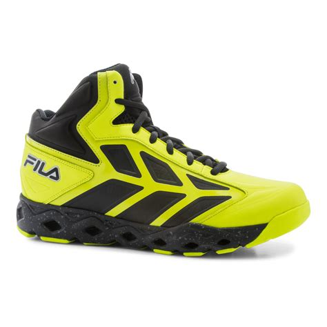 Ardiles Malovic Black Yellow Running Shoes fila s torranado athletic shoe yellow black