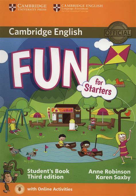 1316617467 fun for starters student s book cambridge english fun for starters student s book with