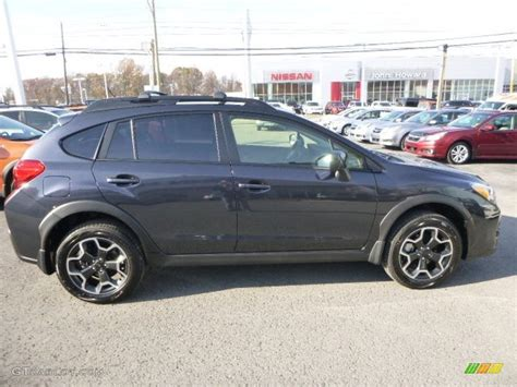 grey subaru crosstrek 2014 dark gray metallic subaru crosstrek 2 0i premium