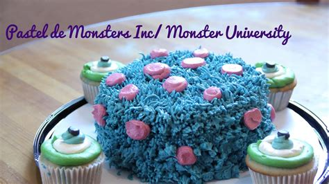 Pastel De Monsters I Cupcakes Monsters Icake