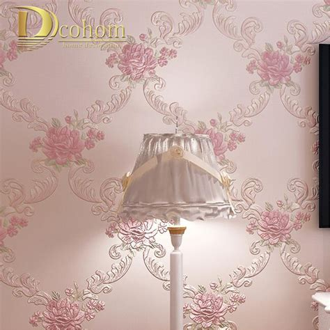 floral wallpaper for walls european pastoral damask floral wallpaper for walls