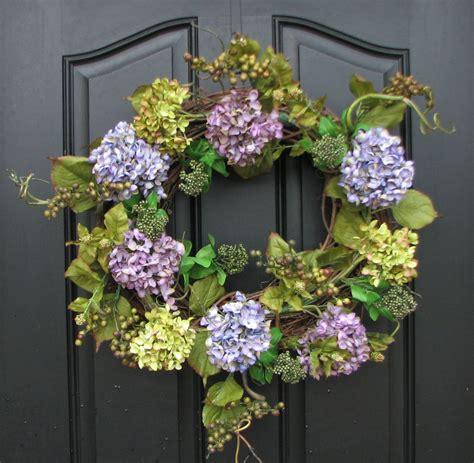 spring door wreath summer wreaths spring inspiration wreath hydrangeas