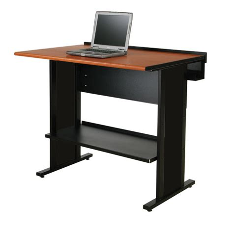 computer stand up desk evolution stand up desk computer desks spectrum industries