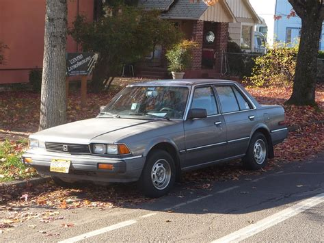 vintage honda accord curbside classic 1983 honda accord honda revolutionizes