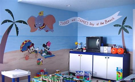 good Teen Girl Room Decor #3: san-diego-muralist-kids-room-disney-beach-mural-artist-art-by-beata.jpg