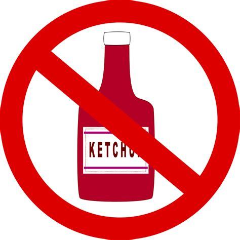 can dogs eat ketchup ketchup forbidden free vector 4vector