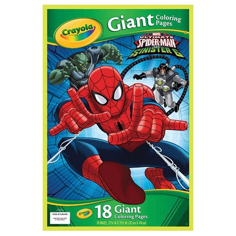 crayola giant coloring pages star wars crayola giant colouring pages spider man online toys