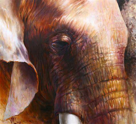 painting elephant dallas on skulls anatomical