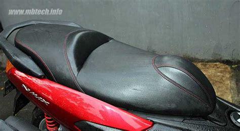 Jok Nmax Mbtech Riders jok custom kombinasi mbtech riders dan mbtech premium