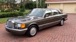 1987 Mercedes 560sel Sold 1987 Mercedes 560sel W126 For Sale By Auto