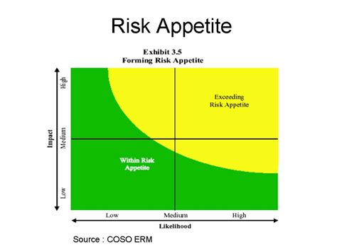 risk appetite template risk appetite a bad idea clouds of vagueness
