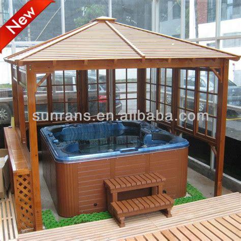 tende per gazebo in legno ojeh net gazebo da giardino in legno con tende