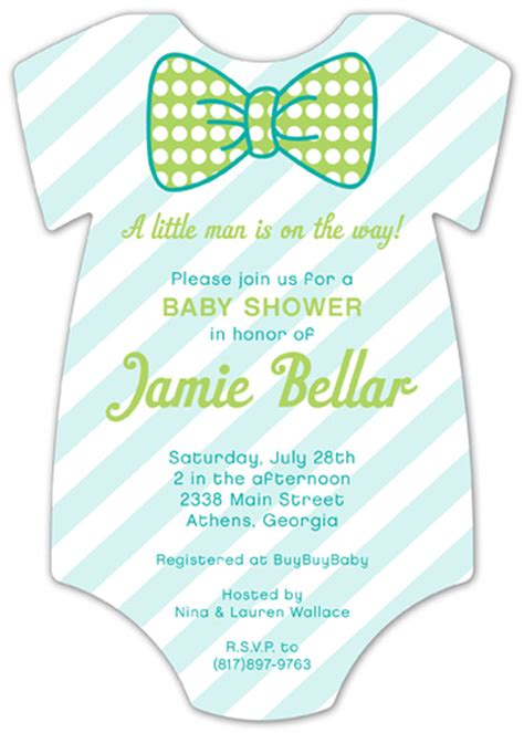 printable onesies invitations pattern cutie onesie baby shower invitation little man