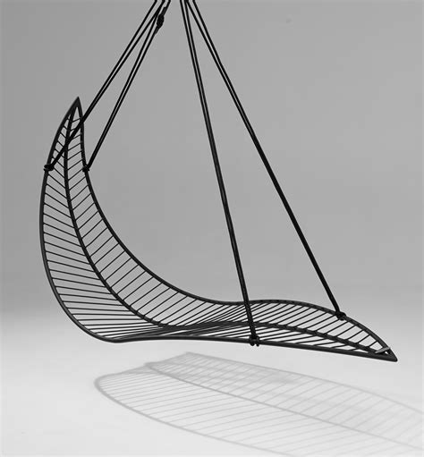 Hanging Chair Swing - leaf hanging swing chair swings from studio stirling