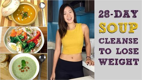 4 Week Detox Weight Loss by 28 Day Soup Detox Cleanse To Lose Weight Meal Plans