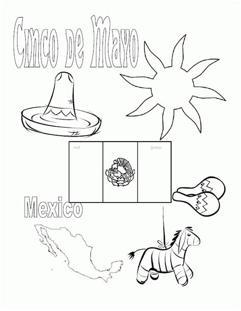 coloring page mexican flag mexican flag color page coloring home