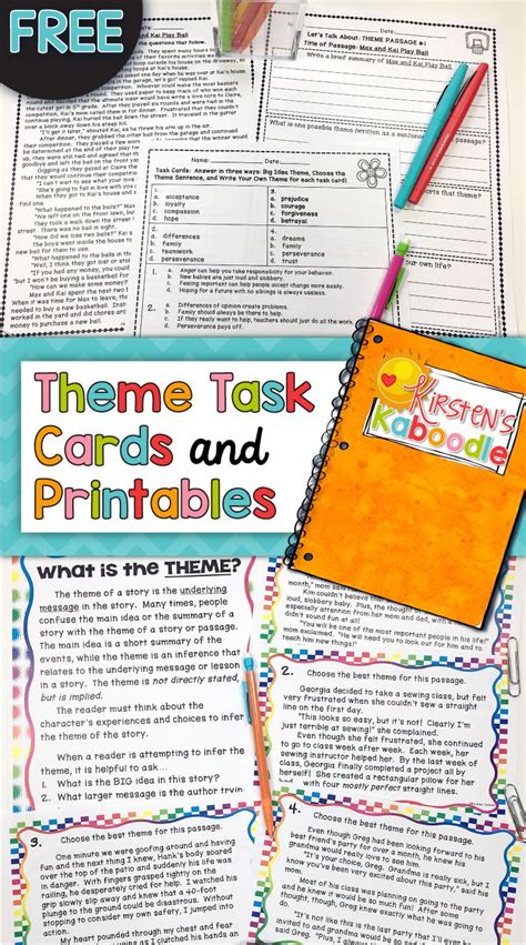 theme quiz 5th grade 25 best ideas about 5th grade reading on pinterest