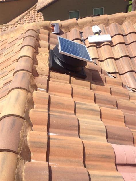 how to install solar attic fan solar attic vent install bcoxroofingcom installing solar