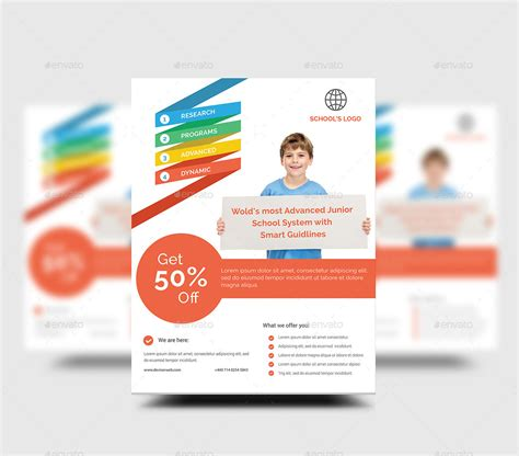school flyer by rtralrayhan graphicriver