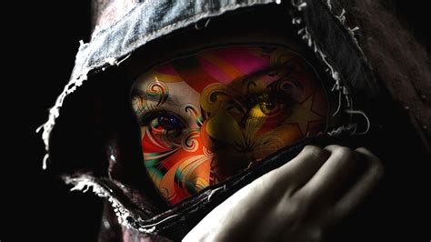 cool tattoo wallpaper cool eyes color wallpaper and background 1600x900 id